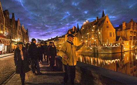 Bruges from the heart