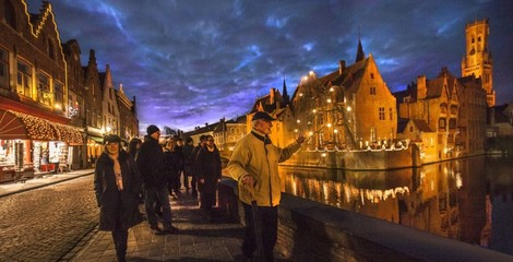 Bruges by heart - guided winter walking tour (2hrs)
