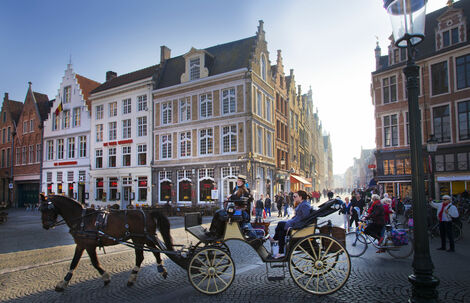 Bruges By Horse-drawn Carriage