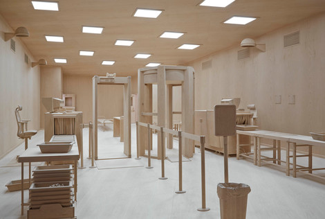 ROXY PAINE (USA), CHECKPOINT Poortersloge