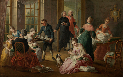 Gruuthuse in gallant company. Life and culture in 18th century Bruges