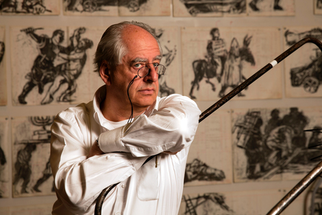 Smoke, Ashes, Fable: William Kentridge in Bruges