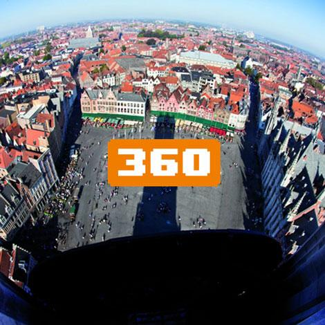 Brügge in 360 °