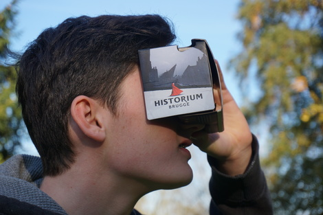 Historium Brugge Virtual Reality City: voor de geek en de leek