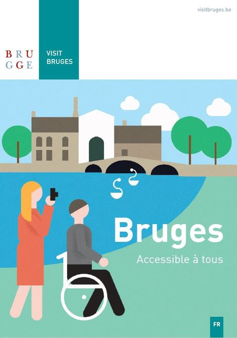 Bruges accessible à tous brochure