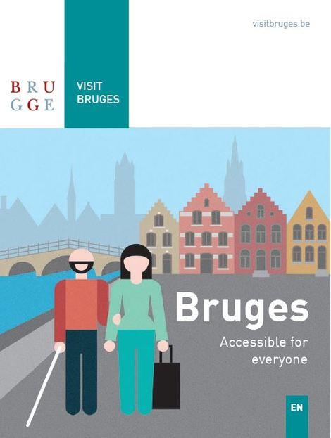 Bruges accessible to everyone map